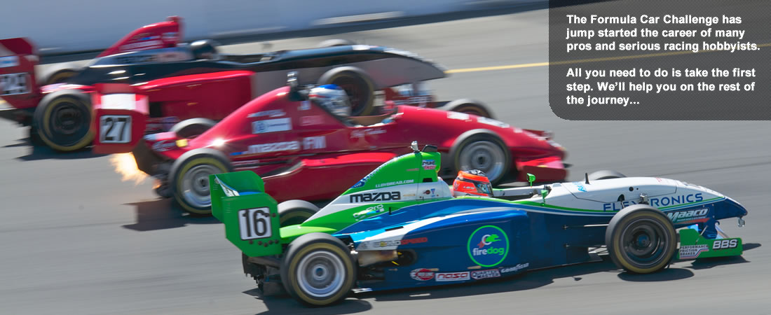 Races one and two of the 2015 Formula Car Challenge presented by Goodyear - Results, photos, and detailed report from the season opener with NASA at Sonoma Raceway.